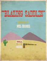 Blazing Saddles by sdotwhoa
