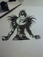 Death Note - Ryuk by Moinhir