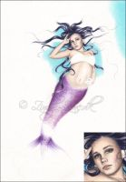 First Mermaid next step by Zindy