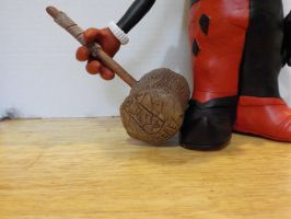 Harley Quinn Potatohead Hammer by Potatoheadmaster