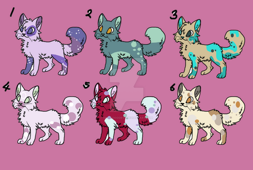 Free Spotted Cat Adopts Closed by GrassGoddess