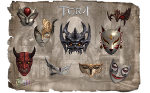 TERA Masks by Tiffli