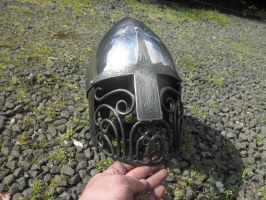 dancer helm by BrianBrownArmoury