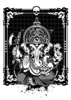 Ganesha  Vector Art by BiancazCurze