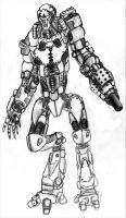 Havoc Security Droid by Iron-Fox