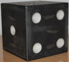 Black Giant Dice Stock 003 by TundraStock