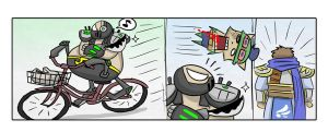 LOL: Urgot biking by phsueh
