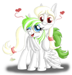 FluffyFeather and Lu. CM by UniSoLeiL