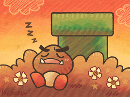 goomba snooze by Paleona