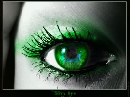 Envy Eye old by RavenxCorpse
