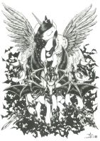 Angel of darkness (scanned version) by whit3-dr4g0n