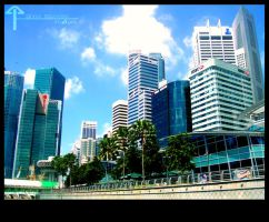 Singapore Skyline by bananaMAK