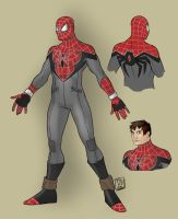 Project Rooftop Spider-man 2.0 by WakeMusicAlarm