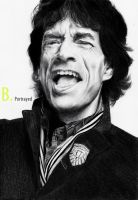 Mick Jagger by B-Portrayed