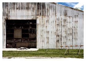 Barn and Sky, Pana Illinois by Suicdekng