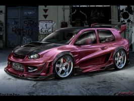 VolksWagen Golf IV Extreme by roobi