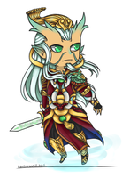 God Select - AO KUANG by GengarChimmy