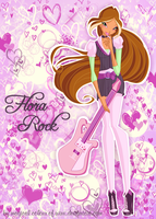 Flora Season 5 Concert by magicalcolourofwinx