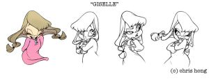 Giselle by kimchii