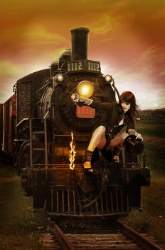 This is my train by PinkMoment