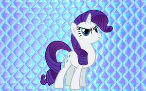 Rarity Wallpaper: Friendship is FASHION by Angall3