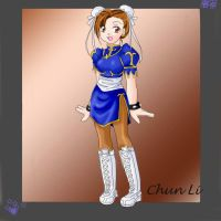 Chibi Chun Li-RP Artrade*EDIT* by flame-champ