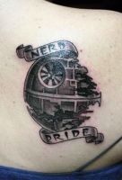 death star by mrwestattoo