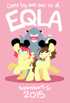 Frog and Cog at EQLA 2015! by FrogAndCog