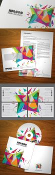 Color Explosion Stationery by KaixerGroup