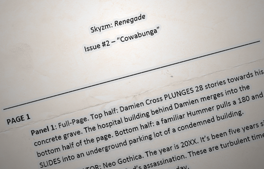 Skyzm Renegade - Issue 2 script by DavyWagnarok