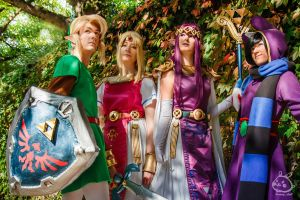 TLoZ: Lorule and Hyrule peacefully united by JellyfishCosplay