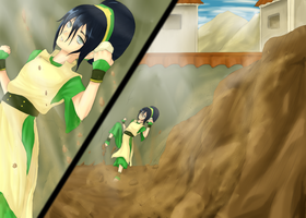 Toph by Cross-kun