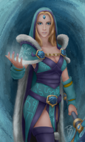 Dota 2 Crystal Maiden by risetoliberty93