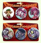 Kickstarted Buttons by Dreamkeepers