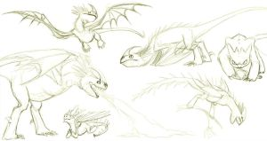 httyd sketches 1 of 2 by morowhitewolf