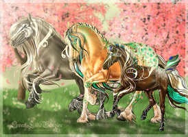 Enjoying Springtime - Nordanner Art Bid by SweetLittleVampire