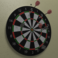 Dart Board by AndiDrajan