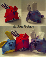 Rookie Rabbits - Plushies by EmrT