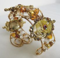 Ornate Cuff Bracelet by Diehlia