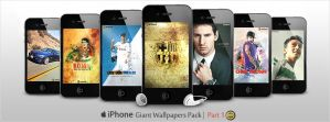 Giant Pack of iPhone Walls - Part 1 by WalidGFX