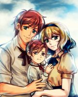 APH: *-:Tomato Family:-* A Special Kind of Love~! by KIMKIM14