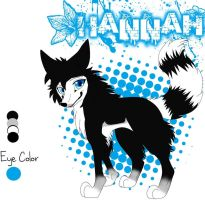 Hannah Ref. by wolfluver67
