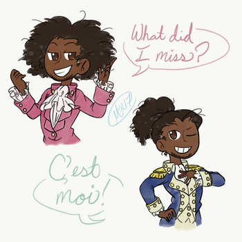 A Part of France by Mewnia