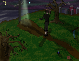 Visiting FusionFall's Grave by Lutetium71