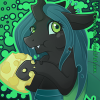 I Am The Queen (Of Swiss Cheese) by Kuro-Creations
