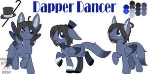 Dapper Dancer by BatmanBrony