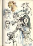 My Sketchjournal- China Doll by Sandora