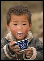 The Grandson (Tibetans II) by Dorcadion