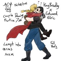 Drawing Practice: Couples 7: King Bradley x Edward by SOTDcorp