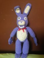 Five Nights at Freddys - Bonnie (With Pattern) by CrochetGamer